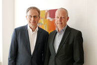 Dr. Christoph Mecking mit Thomas Jorberg