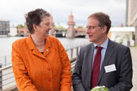 Dr. Christoph Mecking mit Dr. Juliane Kronen
